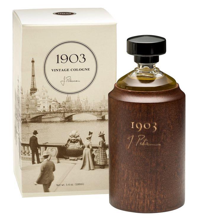 Perfume Bottles Vanilla And Perfume Bottle: 1903 Vintage Cologne For Men - The J. Peterman Company