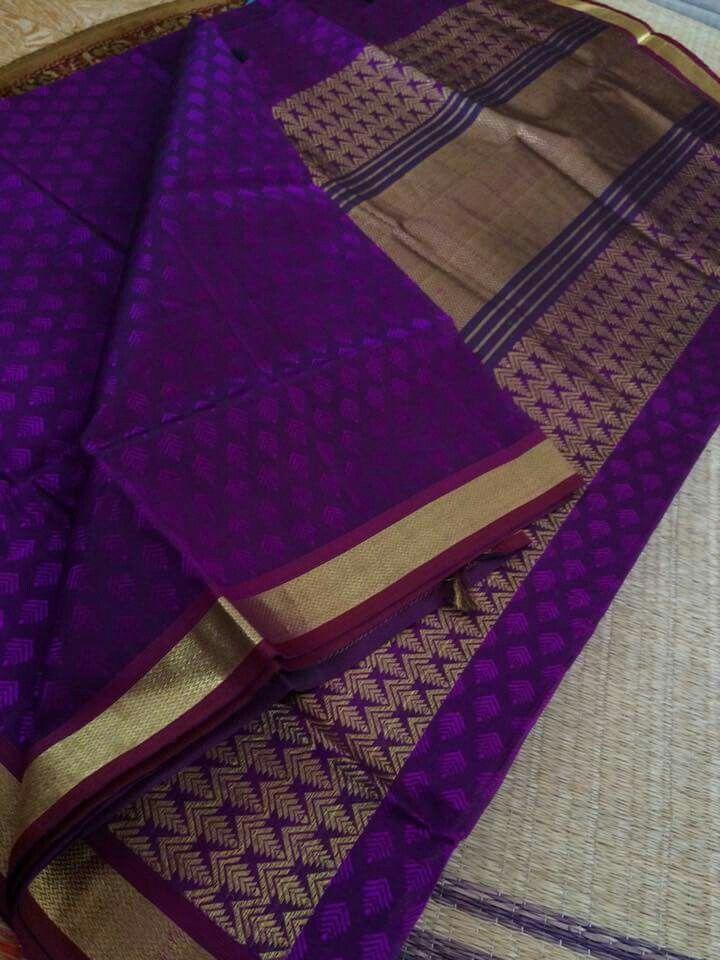 Silk cotton saree - The Chettinad Handloom