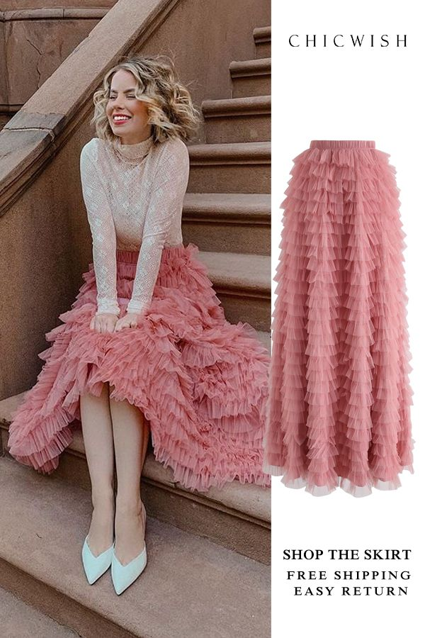 79d0d0d9c5 Free Shipping & Easy Return. Up to 30% Off. Swan Cloud Maxi Skirt ...