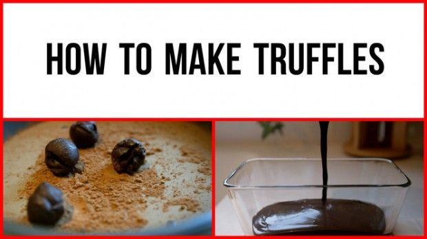 You see the chocolate truffles for sale in candy shops. They look so fancy. Little do most people know, the candies are easy to make at home. Here's the how-to in time for Valentine's Day.