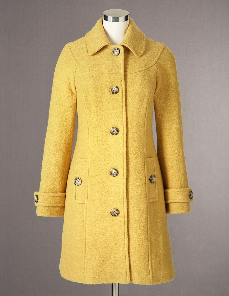 528 best images about coats hats gloves scarves on pinterest for Boden yellow coat