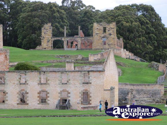 The Penitentiary in Port Arthur, Tasmania  #yankinaustralia #australia