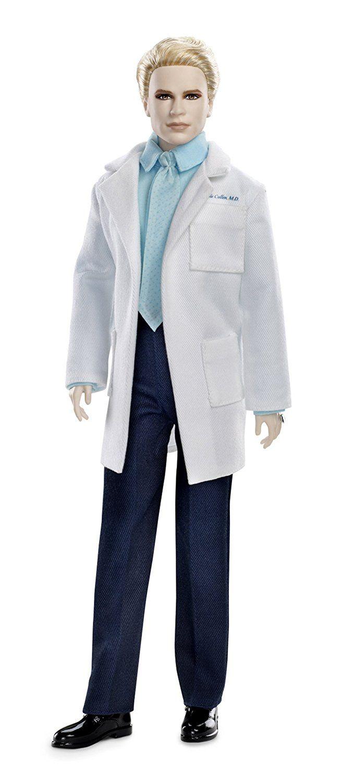 Amazon.com: Barbie Collector The Twilight Saga: Breaking Dawn Part II Carlisle Doll: Toys & Games