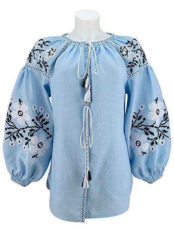 7 besten Folk clothes Ukraine . Embroidered linen dress, tunic ...