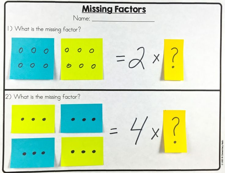 38 best factors and multiples images on Pinterest | Math anchor ...