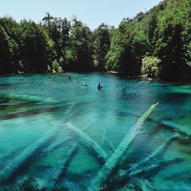 Absolutely Breathtaking Location: Laguna Arcoiris - Parque Nacional Conguillío, Región de La Araucanía (148 km al noreste de Temuco), Chile. Photo by the talented @pho.tomas