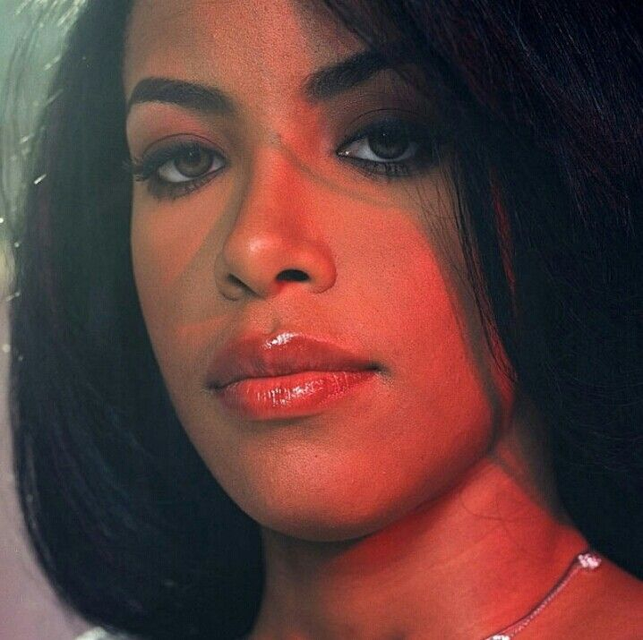 Aaliyah new photos rare & unreleased by Eric Johnson