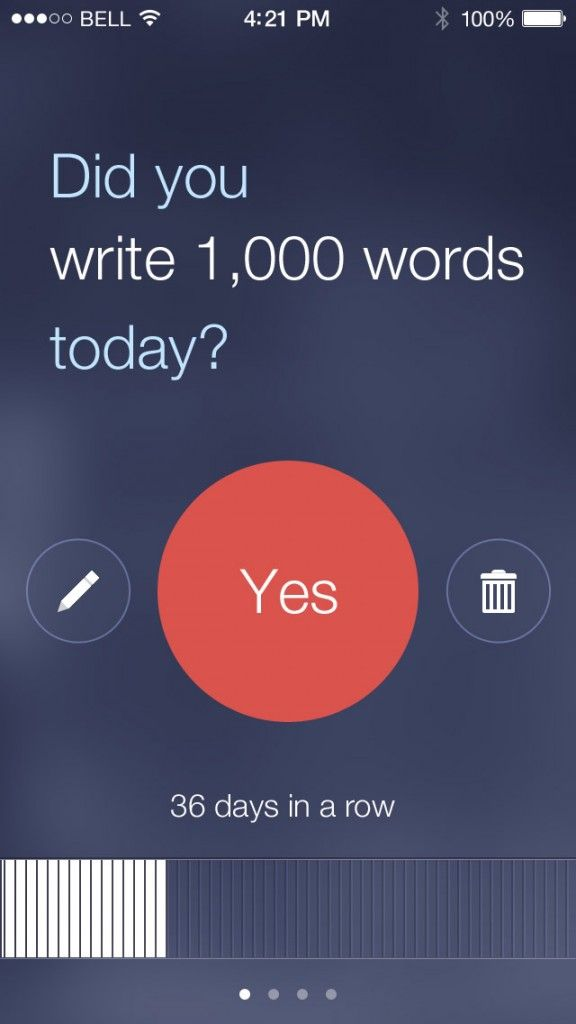 Commit app