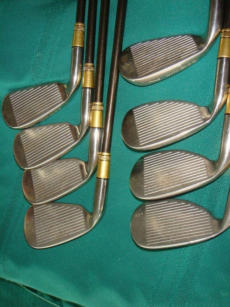 Goldwin Golf Iron Set - 8 Pieces  - Oversize #Goldwin