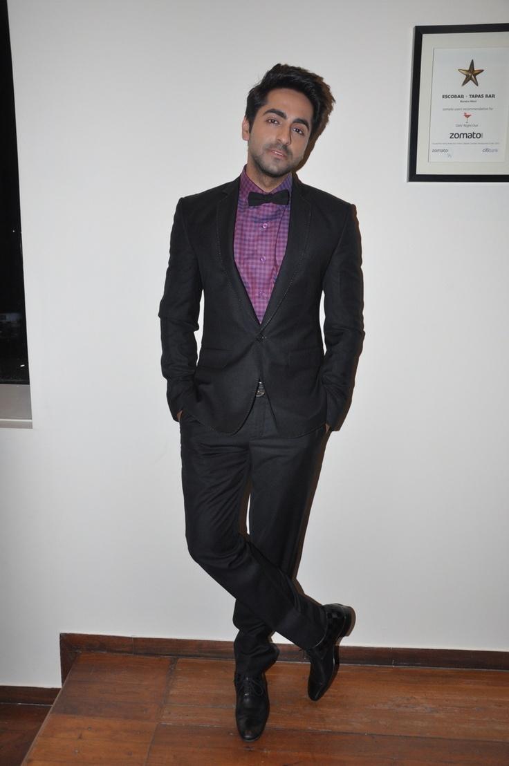 Ayushmann Khurrana at Movie Nautanki Saala Music Success Party.