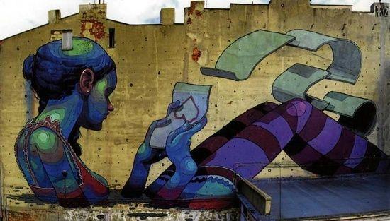 #Lodz #Poland #mural by bessie