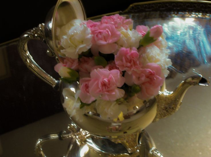 Flower arrangement for our Princess' baby shower