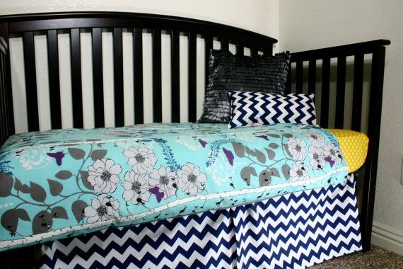 Crib or Toddler Bed Duvet Cover... Choose your Fabric @Etsy
