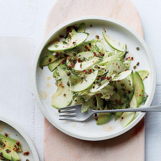 Fennel + apple + avocado