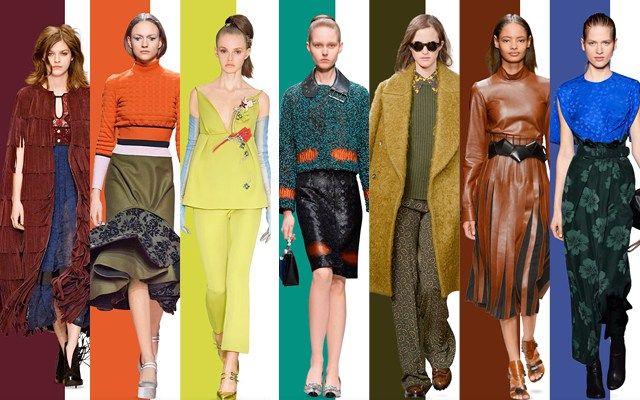 Como Usar Cada Color Del Otoño 2015 // Es difícil combinar los colores de tal modo que se vean interesantes. Esta es la guía completa para usar los colores del otoño 2015 correctamente.