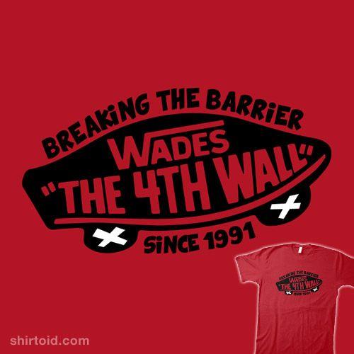 Wades   Shirtoid #comic #comics #deadpool #film #marvelcomics #movie #vans #wadewilson #warbucks360 #warbucksdesign