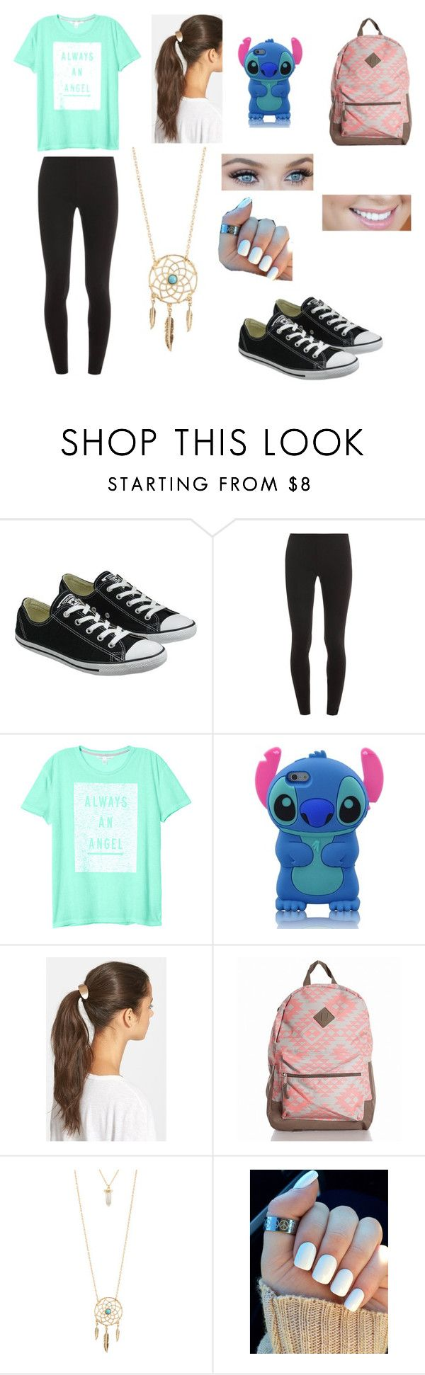 """Back To School Outfit For Teens!"" by pinktropicalparadise ❤ liked on Polyvore featuring Converse, Splendid, Victoria's Secret, Tasha and Aéropostale"
