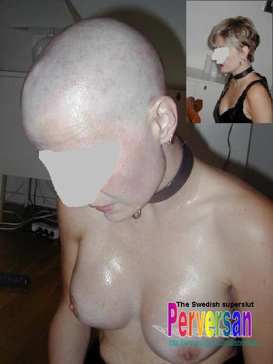 Fetish head shaving