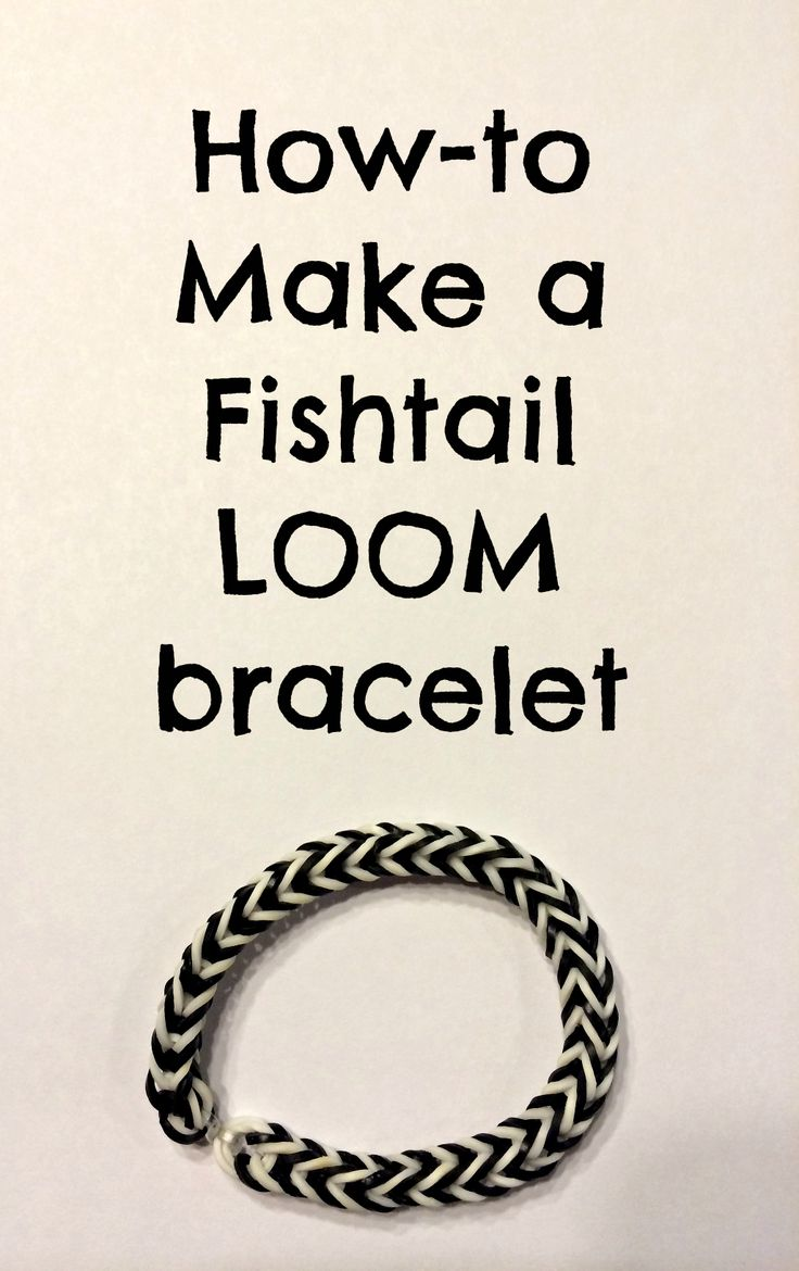 25 unique fishtail loom bracelet ideas on pinterest