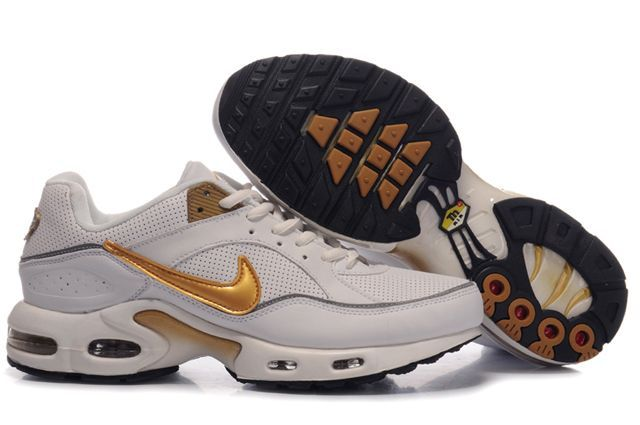 sneakers for cheap 6588e 3fd5b Nike Air Max 97 Nike Air Max TN White Metallic Gold Nike Air Max TN - Add  the Nike Air Max TN White Metallic Gold shoes to your wardrobe as soon as  ...