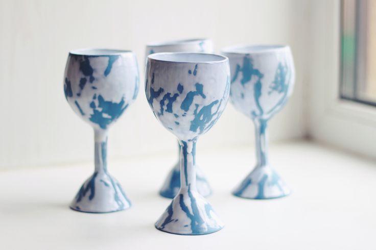 #ceramics #polyankaceramics #glasses #wineglass #glassceramics #art #handmade #clay #ceramicworks #creative #ceramicglaze #glaze #botz #saintpetersburg