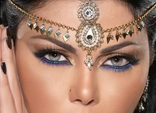 indian inspired make up