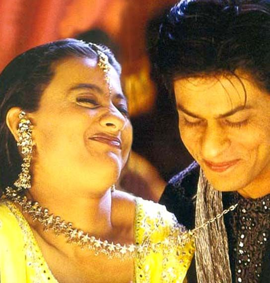 Shahrukh Khan and Kajol - Kabhi Khushi Kabhie Gham (2001)-lol i don't remember that being the expression on her face