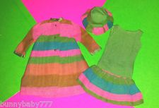 VINTAGE BARBIE FRANCIE MERRY GO ROUNDERS OUTFIT #1230 ~ MINTY!