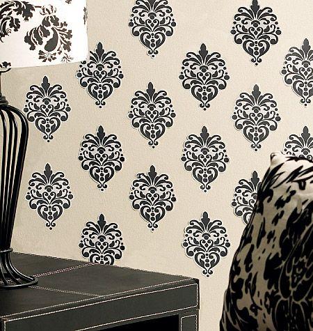 Walmart wallies beautiful baroque vinyl wall decals in black