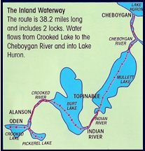 Inland Waterway - Indian River, MI...it's the thing to do around there - cruise the Inland Waterway...cruise in your boat, kayak, tube, etc.