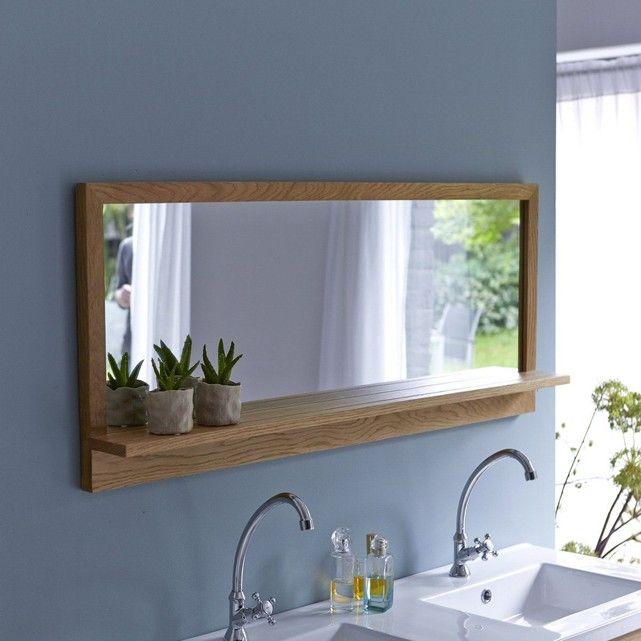 Miroir En Bois De Chêne Easy 120×50 – Taille : Taille Unique