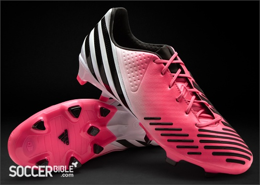 adidas Predator LZ DB Football Boots - Olympic Pink/White/Black - http://www.soccerbible.com/news/football-boots/archive/2012/05/17/adidas-predator-lz-db-football-boots-pink-white-black.aspx