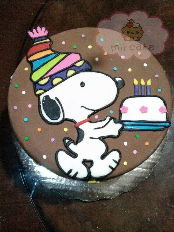 snoppy cake