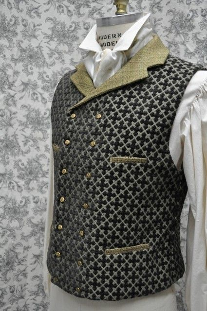 Men's Vest--Steampunk