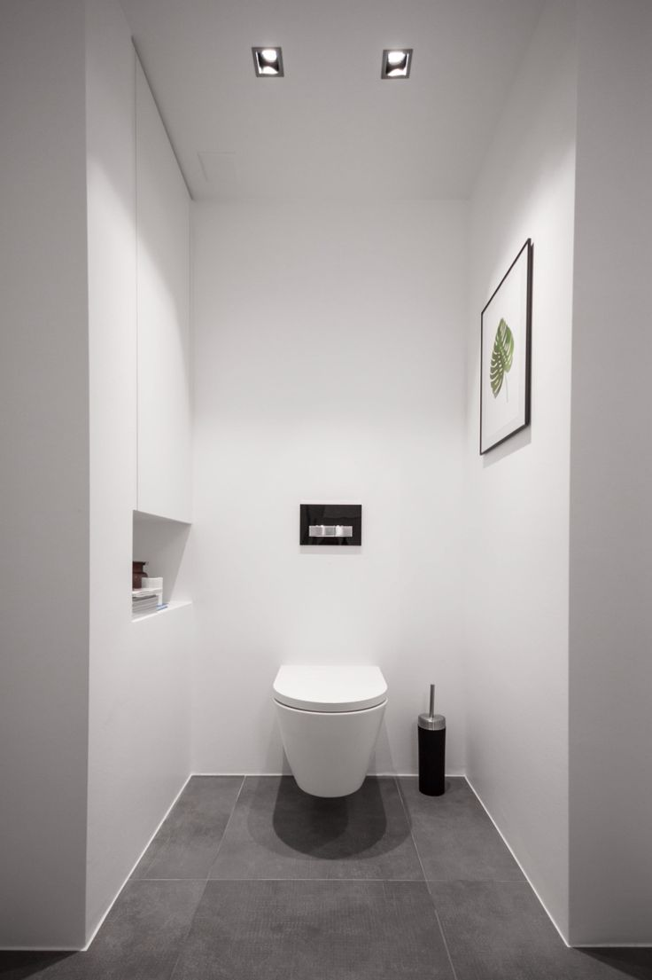 Minimalist Bathroom / Toilet Kartell By Laufen Http://www.justleds.co