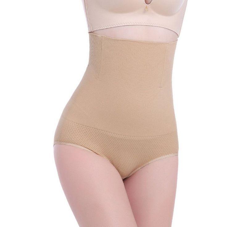 Women High Waist Tummy Control  Slim Underwear Body Shaper