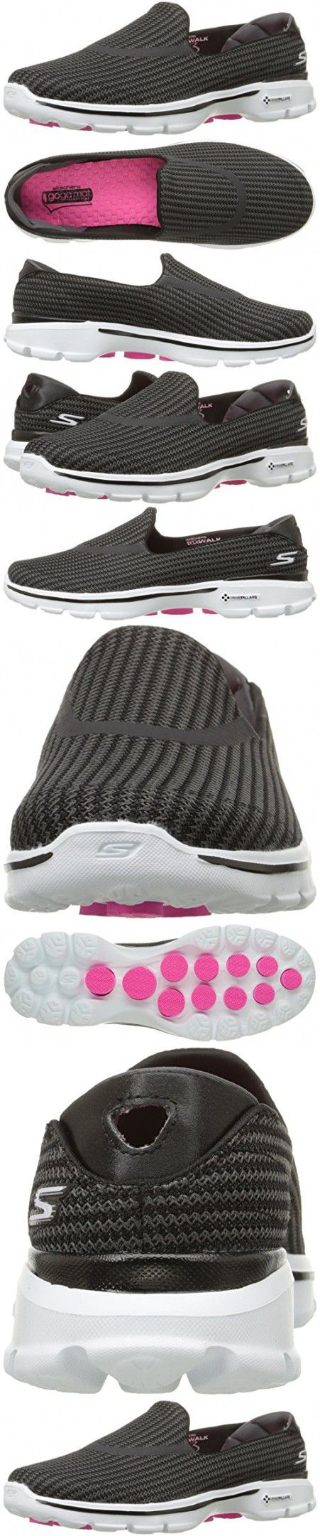 Zapatillas para caminar RYKA Women's Sky, Negra / Rosa, 10.5 M US