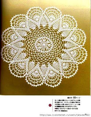 beautiful doily (Crochet Knitting Handicraft)                                                                                                                                                                                 More