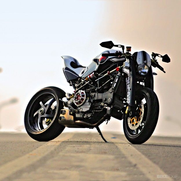 Ducati Monster by Paolo Tesio. Love this Duc! needs Impulse Lights to be Perfect. www.impulselights.com to see our motorcycle driving led light