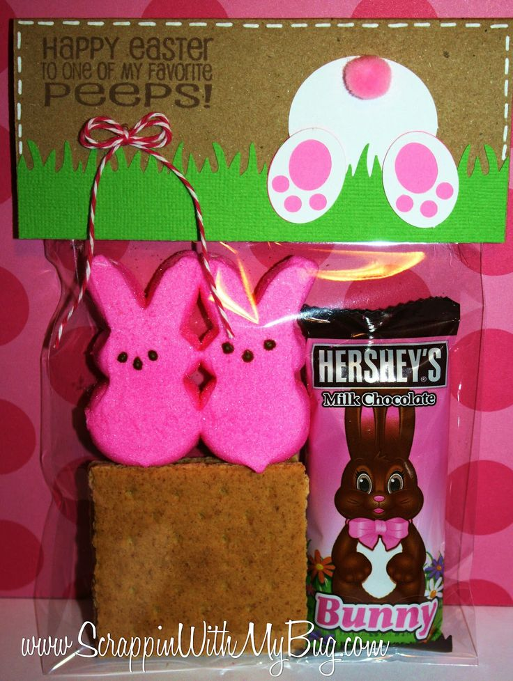 Easter S'mores: perhaps the cutest easter craft ever, on the planet!