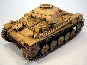 Panzer II Ausf. F by Massimo Benedetti (Tamiya 1/35)