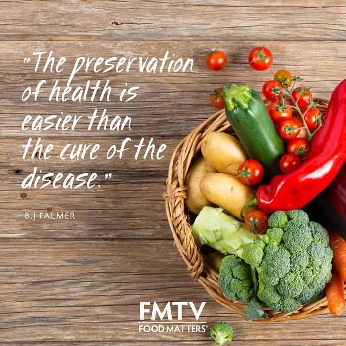 The preservation of health is easier than the cure of disease!  www.FMTV.com #FMTV #FoodMatters #Quoteoftheday