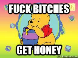 Pooh knows what's up