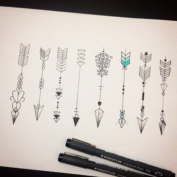 Amazing Arrow Tattoos for Female Pinterest : CaramelCurly