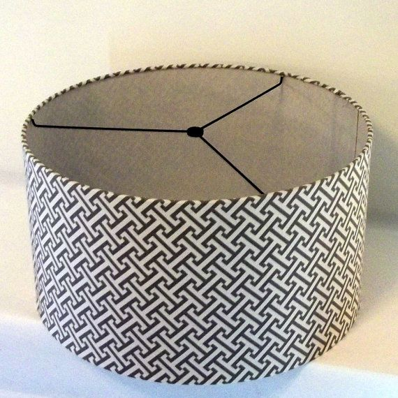 17 Best images about drum lamp shades on Pinterest | Lamp shades ...:Lamp Shade Drum style large size 15x10 in great by elladeandesign,Lighting