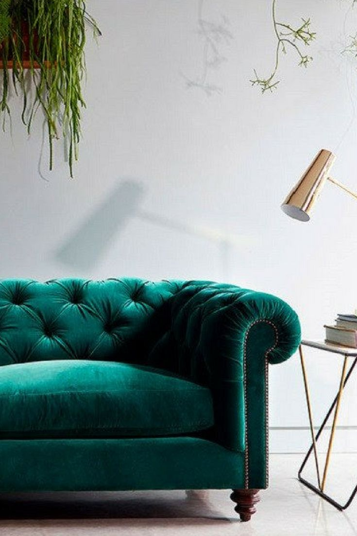 The 25 best Velvet chesterfield sofa ideas on Pinterest
