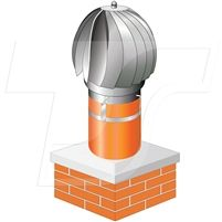 Smart Draught is a wind driven freely spinning terminal designed to increase updraught on difficult chimneys. Smart Draught is suitable for most conventional clay chimney pots with an 8 inch (200mm) internal and 9 inch (230mm) external diameter and is available in 4 finishes which are illustrated above.  #smardraught, #chimneycowl, #rotatingcowl, #winddrivingcowl, #spinningcowl