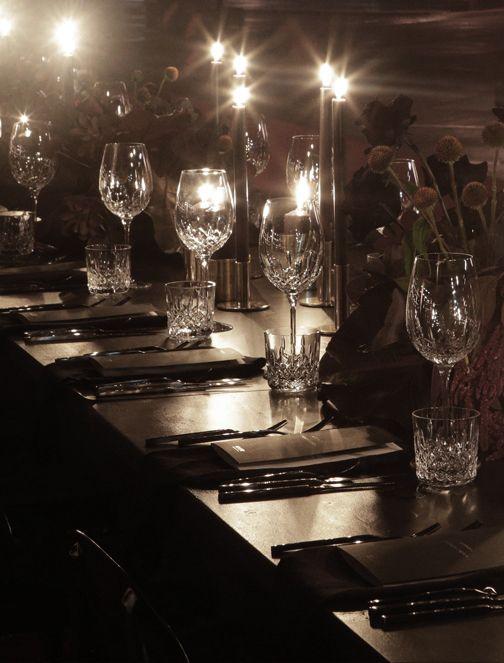 Gloss Creative | Myer AW17 Runway #glosscreative #myer #creativedirection #setdesign #runway #catwalk #fashionparade #dinner #tablestyling #event