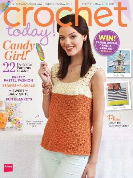 Crochet Today Magazine Free Patterns : Crochet Today! Magazine - www.crochettoday.com #crochettoday #magazine ...