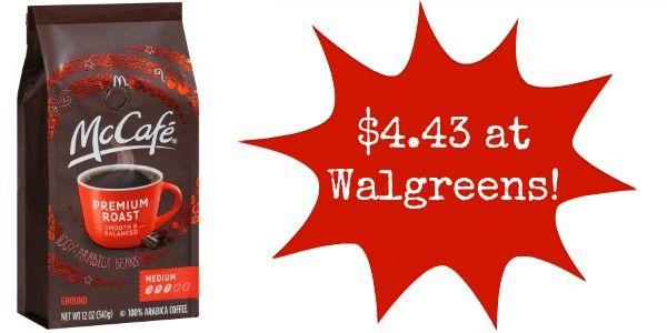 Walgreens: McCafe Coffee Only $4.43!